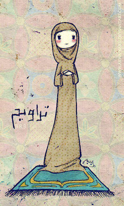 woman-taraweeh