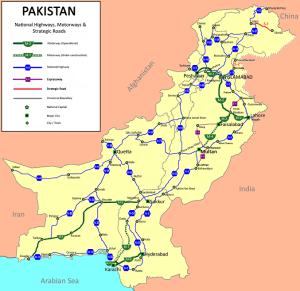 Pakistan Road Map