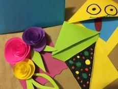 Arts and Crafts sessions at Sisters' Circle